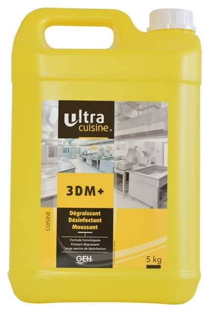 DETERGENT 3DM +  MOUSSANT DESINFECTANT 5L  AGREE DSV