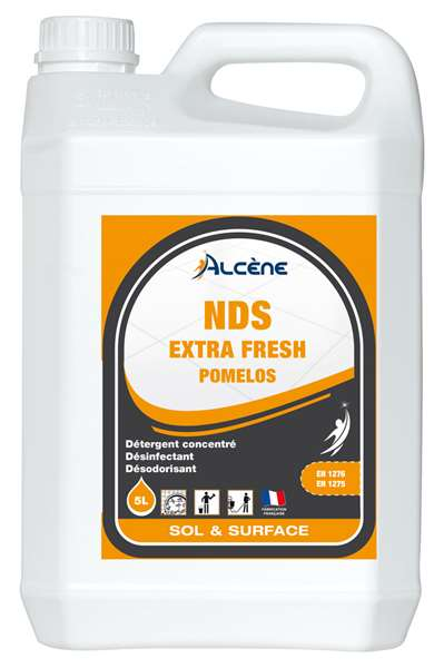 DETERGENT 3D EXTRA FRESH ALCENE 5L -  POMELOS