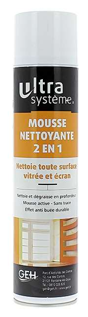 VITRE ECRAN ULTRA MOUSSE AEROSOL 600ML